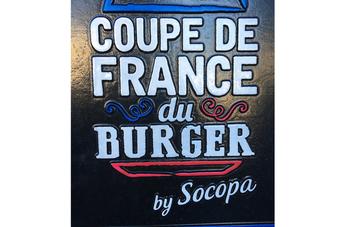 Notre burger « maison » récompensé lors de la Coupe de France du Burger
